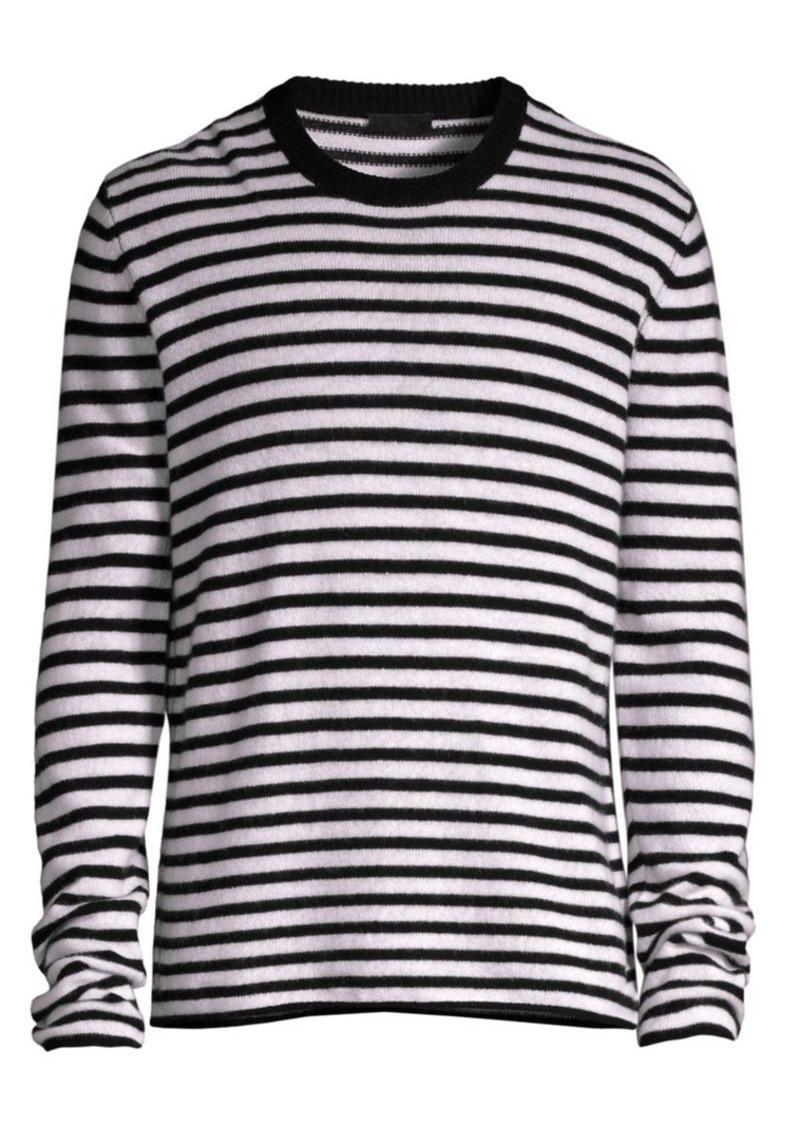 ATM Anthony Thomas Melillo Stripe Cashmere Sweater