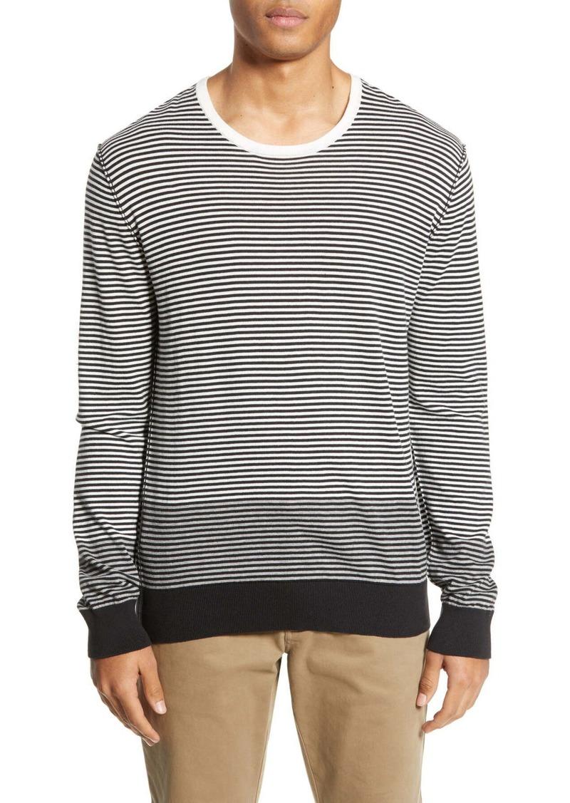 ATM Anthony Thomas Melillo Stripe Colorblock Sweater
