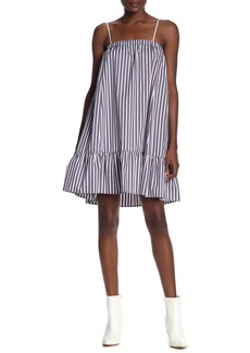 ATM Anthony Thomas Melillo Stripe Sleeveless Tent Dress