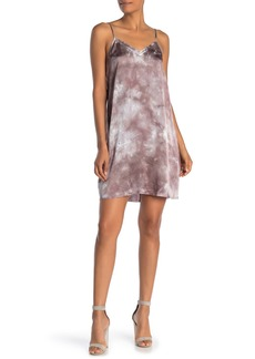 ATM Anthony Thomas Melillo Tie Dye Silk Slip Dress