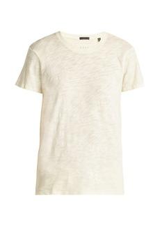 ATM Anthony Thomas Melillo ATM Schoolboy cotton slub-jersey T-shirt