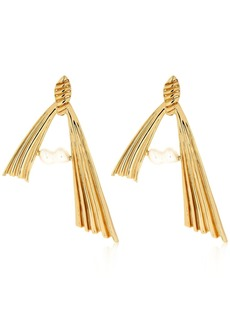 Attico Alican Icoz Amore Pearl Earrings