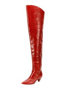 Attico Asia Over-The-Knee Boots