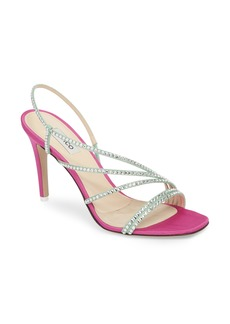 Attico Crystal Embellished Strappy Sandal (Women)