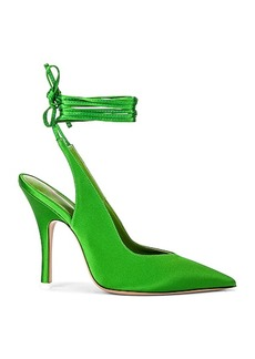 ATTICO Lace Up Slingback Heel