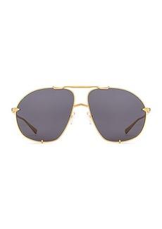 ATTICO Mina Aviator Sunglasses