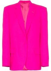 Attico single-breasted oversize blazer