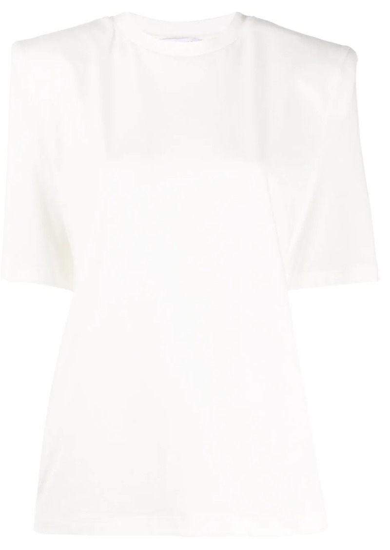 Attico square shoulder T-shirt