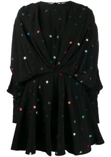 Attico Star appliqué mini dress