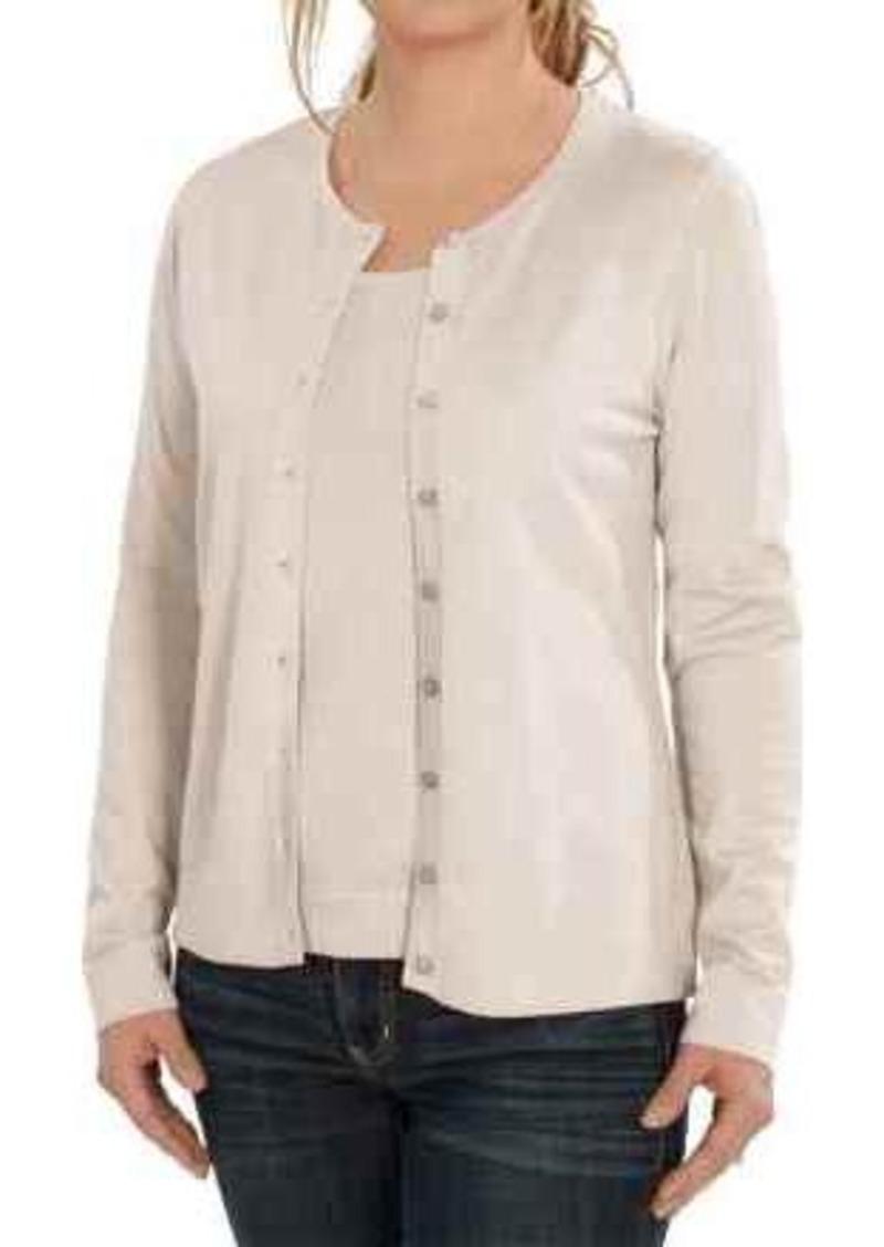 August Silk August Silk Cardigan Sweater - Silk Blend (For Women ...