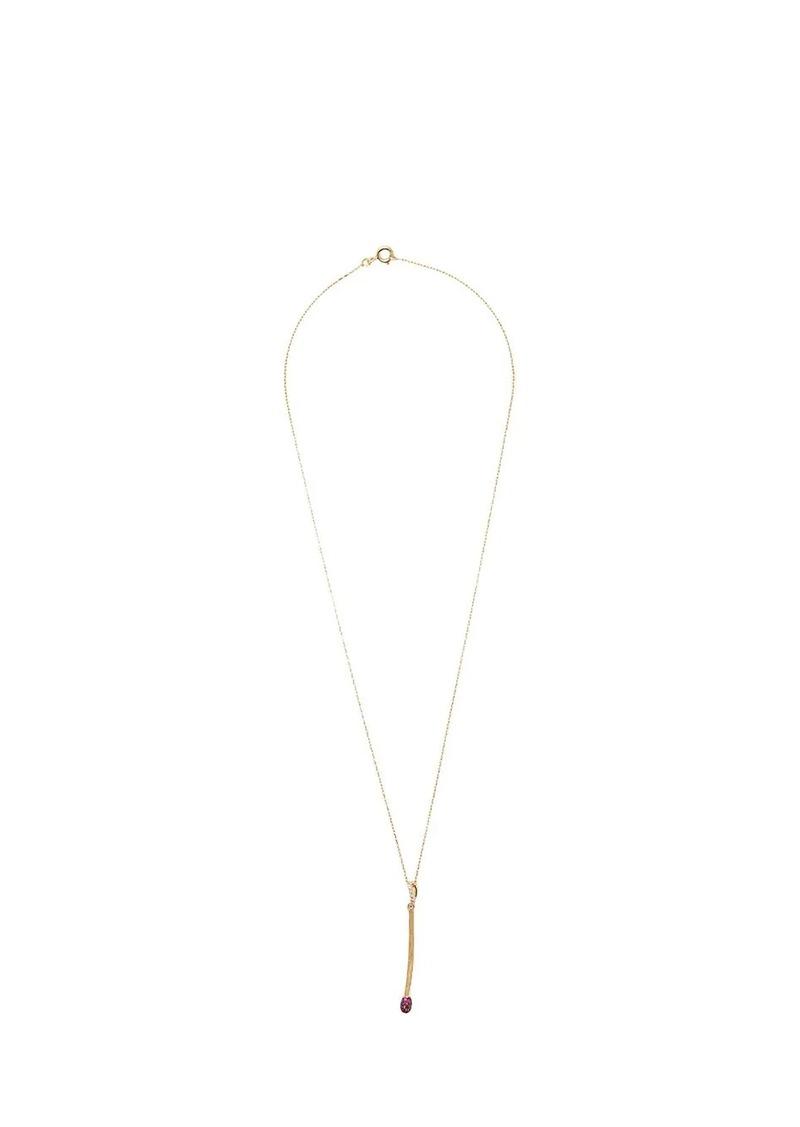 Aurelie Bidermann match stick pendant necklace