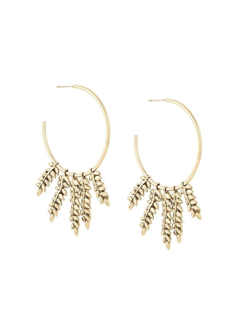 Aurelie Bidermann 'Mia' hoop earrings