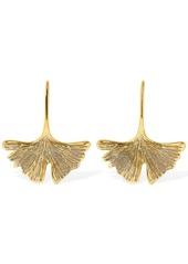 Aurelie Bidermann Tangerine Glitter Drop Earrings