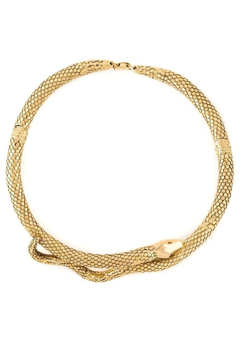 Aurelie Bidermann 'Tao' snake necklace