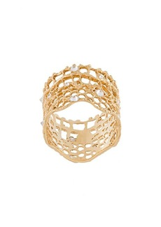 Aurelie Bidermann 'Vintage Lace' diamond ring