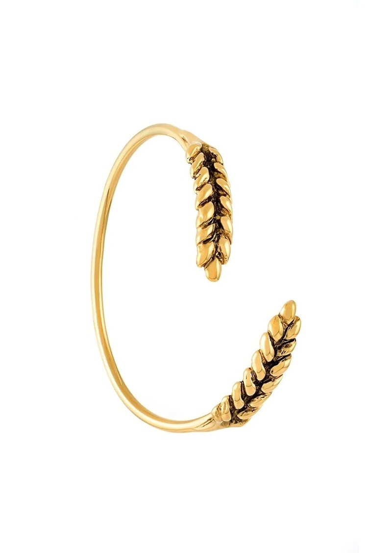 Aurelie Bidermann 'Wheat' open bracelet