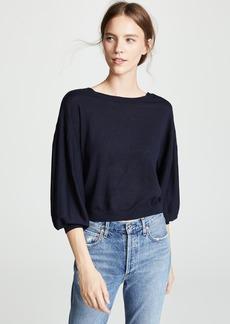 Autumn Cashmere Balloon Sleeve Cashmere Sweater