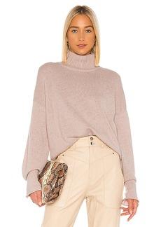 Autumn Cashmere Boxy Mock Neck Sweater