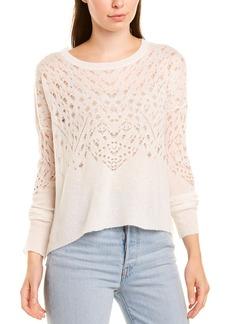 Autumn Cashmere Cashmere & Silk-Blend Sweater