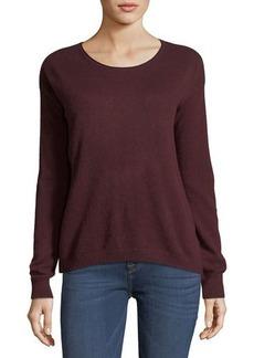 Autumn Cashmere Cashmere Cropped Boxy Sweater