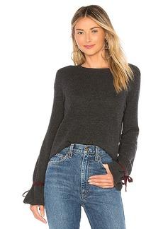 Autumn Cashmere Cinched Cuff Sweater