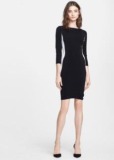 autumn cashmere Colorblock Body-Con Dress