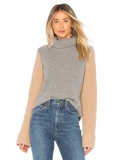 Autumn Cashmere Colorblock Sweater