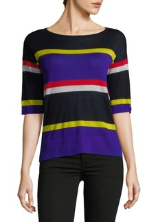 Autumn Cashmere Colorblocked Cashmere Sweater