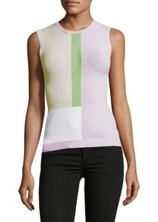 Autumn Cashmere Colorblocked Sleeveless Top