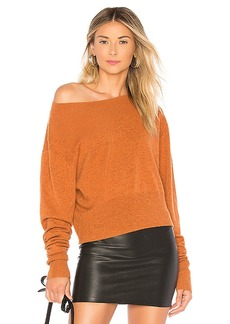 Autumn Cashmere Crop Boxy Sweater