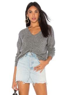 Autumn Cashmere Distressed Boxy Sweater
