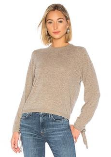 Autumn Cashmere Drawstring Sleeve Sweater