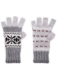Autumn Cashmere Fairisle Fingerless Gloves