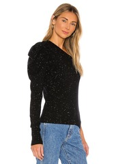 Autumn Cashmere One Shoulder Draped Sleeve Sweater