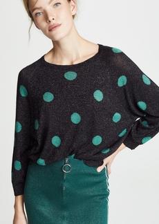 Autumn Cashmere Polka Dot Cashmere Sweater
