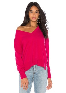 Autumn Cashmere Relaxed V-Neck Sweater