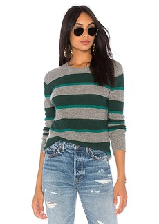 Autumn Cashmere Rugby Stripe Sweater