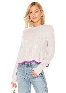 Autumn Cashmere Shaker Crew Neck Sweater