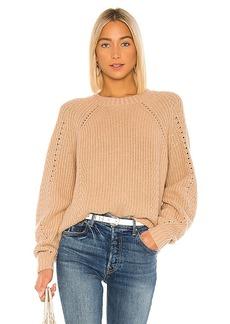 Autumn Cashmere Shaker Crew Sweater