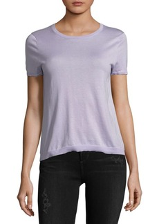 Autumn Cashmere Shirred Back T-Shirt