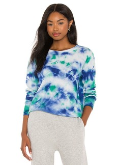 Autumn Cashmere Tie Dye Crew Sweater