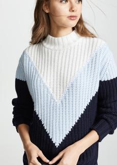 Autumn Cashmere Tri Color Shaker Sweater