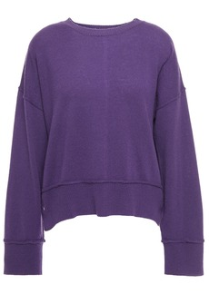 Autumn Cashmere Woman Cashmere Sweater Purple