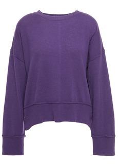 Autumn Cashmere Woman Cashmere Sweater Purple