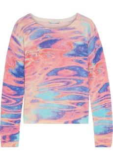Autumn Cashmere Woman Printed Cashmere Sweater Multicolor