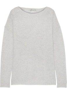 Autumn Cashmere Woman Ribbed Wool Sweater Light Gray