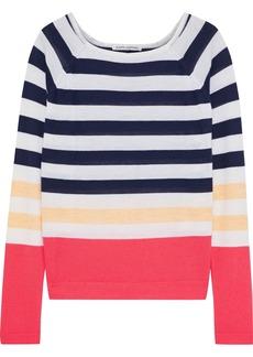 Autumn Cashmere Woman Striped Cashmere Sweater Multicolor