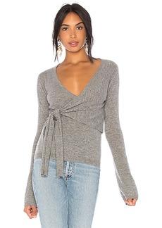 Autumn Cashmere x REVOLVE Asymmetric Tie Sweater