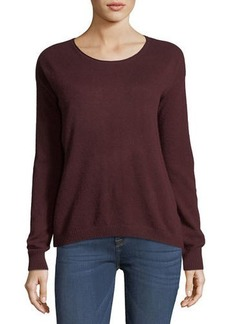 Autumn Cashmere Cashmere Cropped Boxy Sweater
