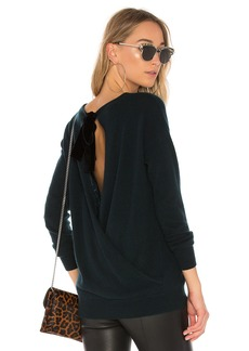 Autumn Cashmere Crossover Back Sweater